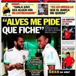 "Sport: ""Alves mi chiede di venire al Barça"""