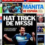 Sport: Hat trick di Messi