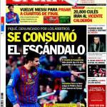 Sport: Si è consumato lo scandalo