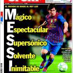 Sport: Il mondo si inchina a Re Messi