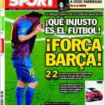 Sport: Che ingiusto il calcio, Forza Barcellona
