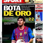 Sport: Messi, re del gol