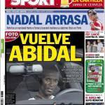 Sport: torna Abidal