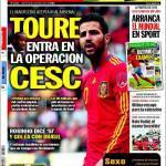 Sport: Tourè entra nell'operazione Cesc