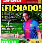 Sport: Jordi Alba primo rinforzo per il Barcellona