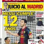 Sport: Messi compie 12 anni