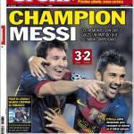Sport: Champion Messi