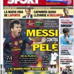 Sport: Messi contro Pelè