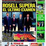 Sport: Rosell supera l'ultimo esame