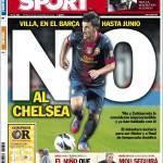 Sport: No al Chelsea per Villa