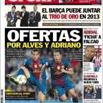 Sport: Offerte per Dani Alves e Adriano