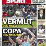 Sport: Vermut con Messi