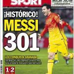 Sport: Storico Messi!