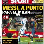 Sport: Messi, pronto per il Milan