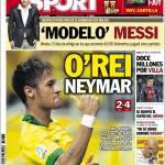 Sport: Il re Neymar