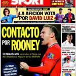 Sport: Contatto per Rooney