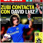 Sport: Contatti con David Luiz
