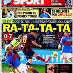 Sport: Ra-ta-ta-ta