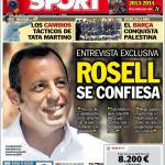 Sport: Rosell si confessa