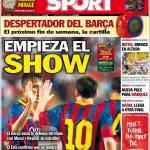 Sport: Inizia lo show