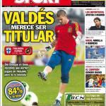 Sport: Valdes merita di essere titolare