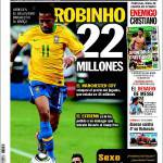 Sport: Robinho 22 milioni
