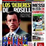 Sport: I compiti di Rosell