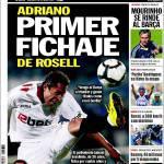 Sport: Adriano, primo acquisto di Rosell