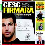 Sport: Cesc firma