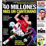 Sport: 40 milioni più un giovane