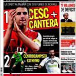 Sport: Barcellona, primo obiettivo Fabregas, secondo Ozil
