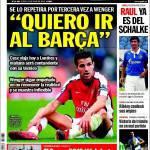 """Sport: """"Io voglio andare al Barcellona"""""""