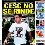 Sport: Cesc non si arrende