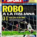 Sport: Furto all'italiana