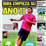 Sport: Ibra, inizia il secondo anno