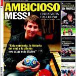 Sport: Ambizioso Messi