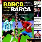 Sport: Barcellona contro Barcellona