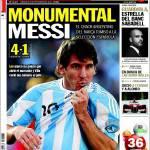 Sport: Monumentale Messi