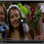 Video – Italia-Giappone, una giovane chiede a Balotelli di sposarla in diretta tv