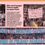 Lazio-Inter, tutti gli striscioni dei tifosi laziali – Foto