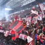 Milan-Genoa, petardo contro tifosi rossoneri