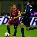 Roma, Totti si ferma: infortunio alla caviglia