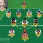 TOP 11 di Vialli: una squadra formidabile. Maradona con Van Basten, Zico e Maldini!