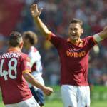 Roma, Totti scherza durante un'intervista di Florenzi: Non dire c*****e! –  Video