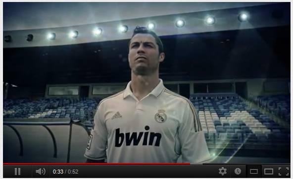 trailer Video   PES 2013 ufficiale: ecco il primo teaser trailer con Cristiano Ronaldo, magnifico!
