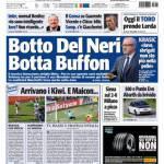 Tuttosport: Botto Del Neri, botto Buffon
