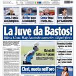 Tuttosport: La Juve da Bastos!
