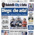 Tuttosport: Diego, che asta!
