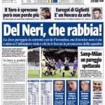 Tuttosport: Del Neri, che rabbia!