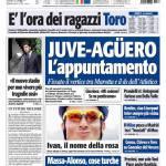Tuttosport: Juve-Aguero, l'appuntamento
